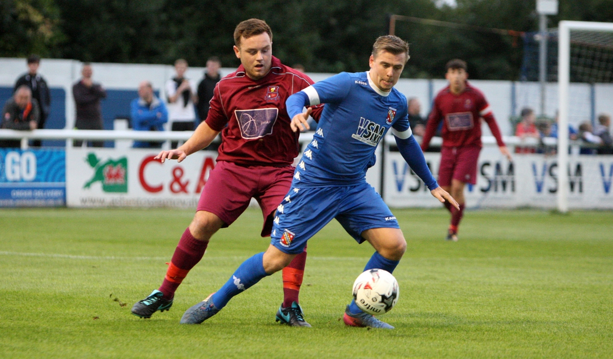 Action from Bangor City's draw with Holyhead Hotspur (Photo: Richard Birch)