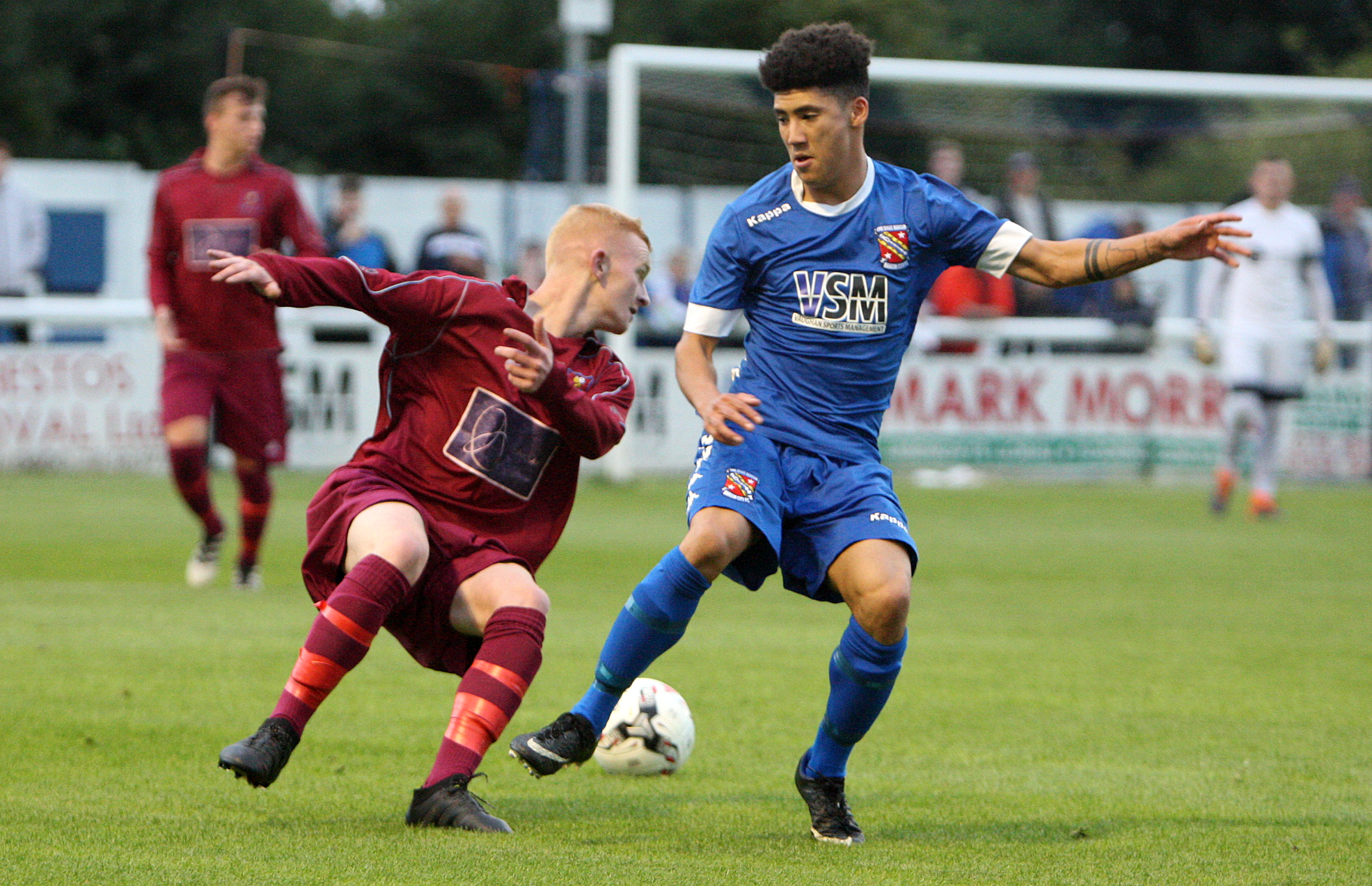 Bangor City face a huge test of their credentials at Airbus Broughton on Saturday (Photo: Richard Birch)
