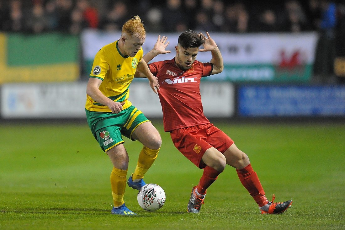 Caernarfon Town have enjoyed a sensational start to life in the WPL (Photo by Richard Birch)