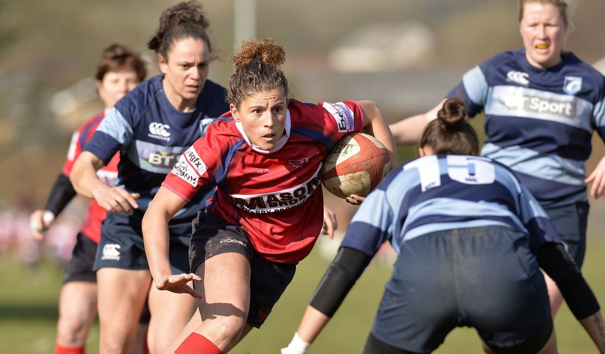 RGC star Jess Kavanagh has been named in the Welsh squad
