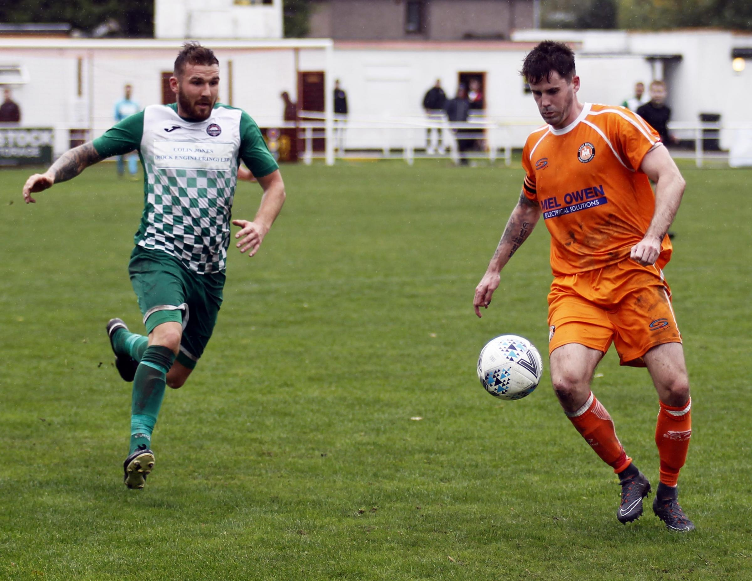 Conwy Borough skipper Gerwyn Jones has turned down a move to Bangor City (Photo: Dave Thomas)