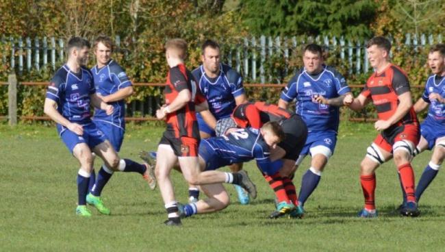 Action from Dolgellau's SWALEC Bowl win