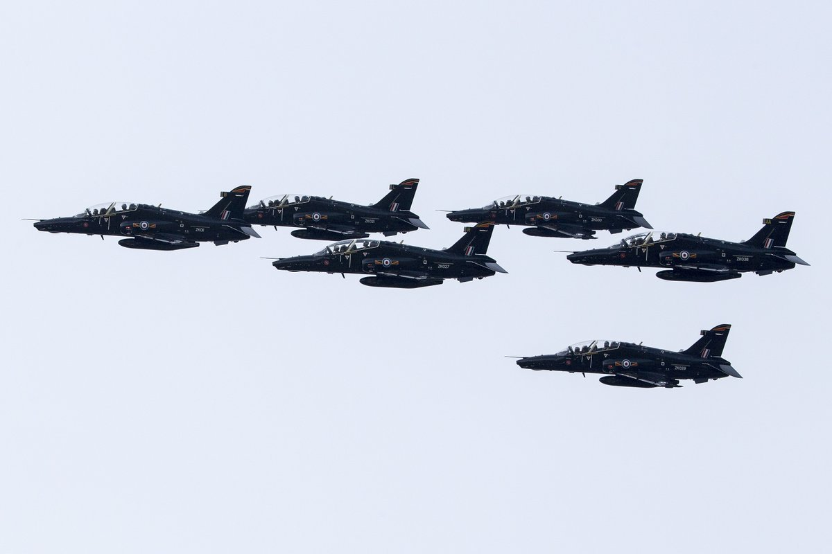 Generic pictures of Hawks flying over RAF Valley.