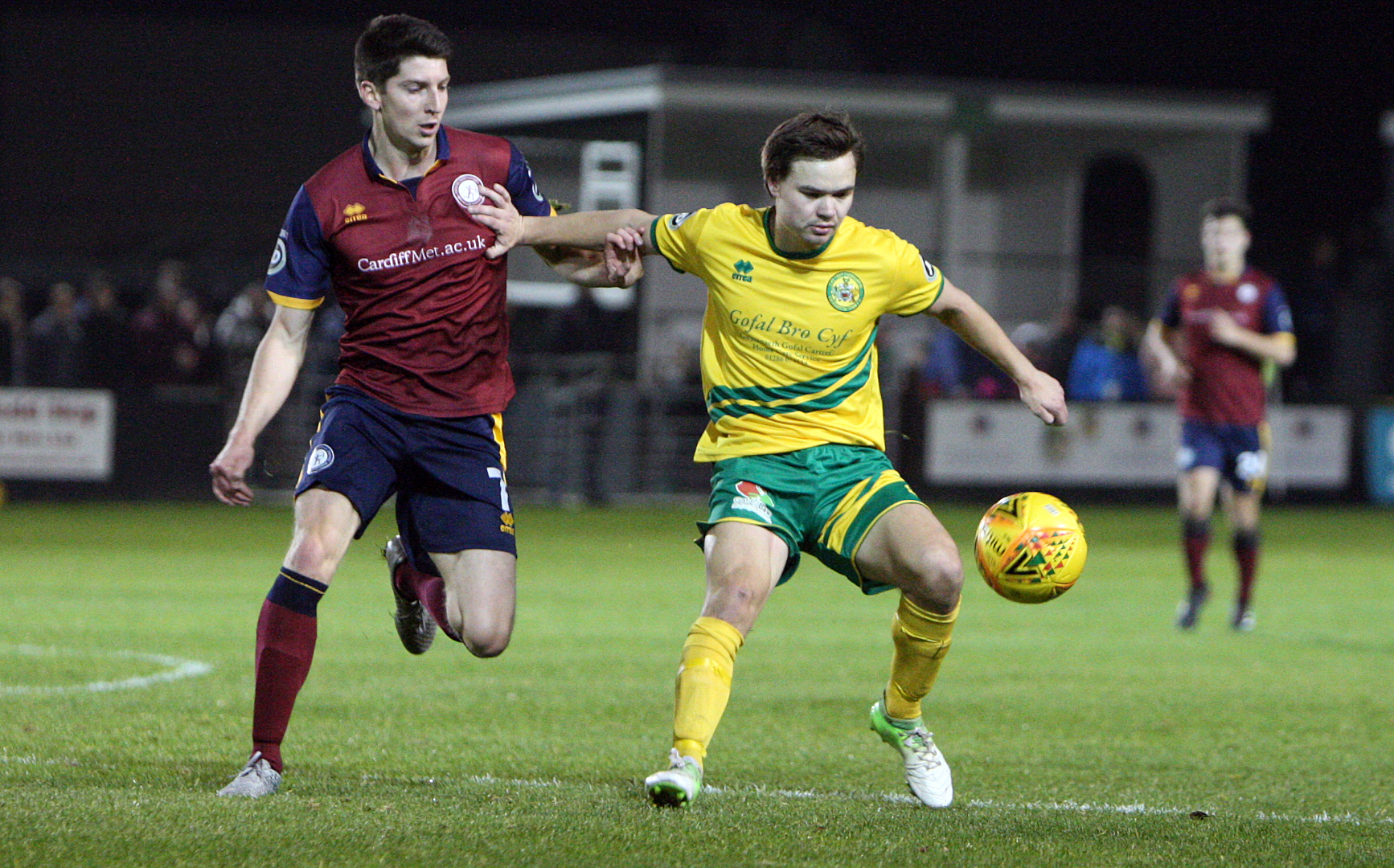 Noah Edwards has made a huge impression since signing for Caernarfon Town (Photo by Richard Birch)