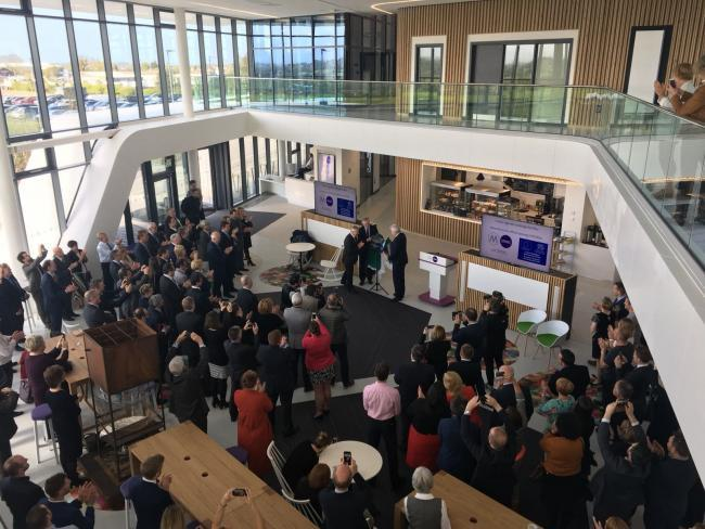 The Menai Science Park opened in May