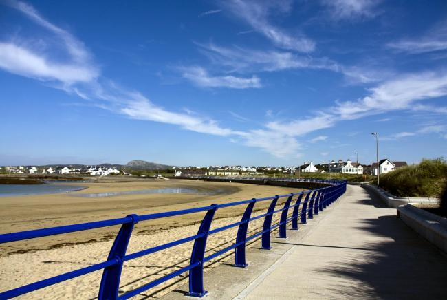 The workshop is run by the Welsh Government's business development agency. Pictured: Trearddur Bay