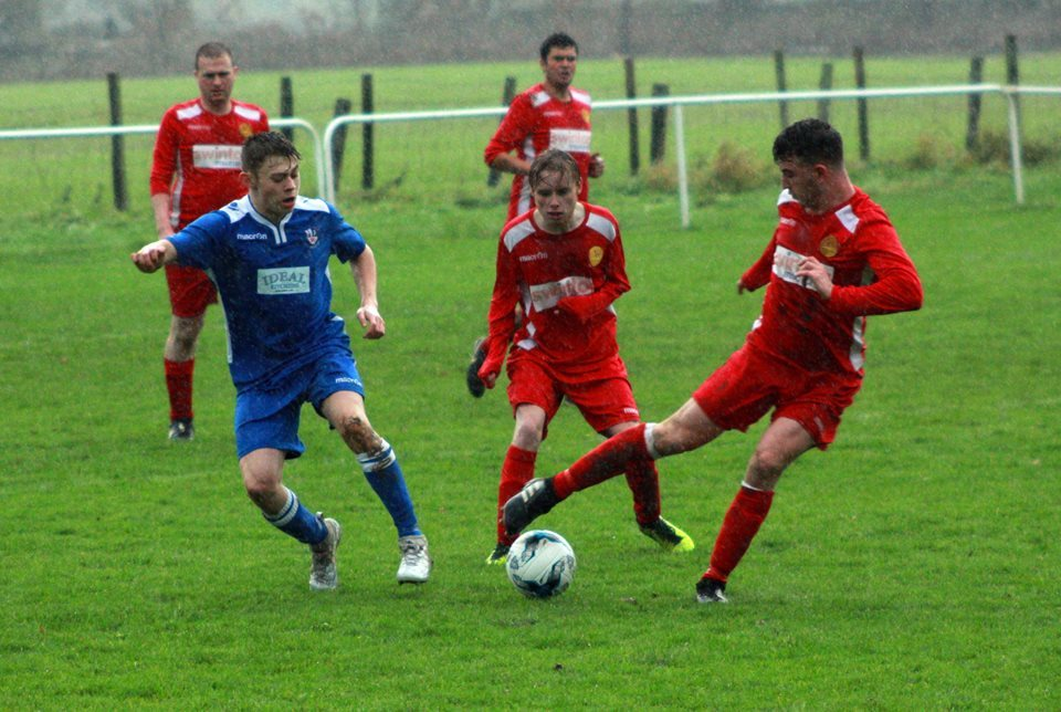 Llanrwst United were narrowly beaten at home by Llanberis