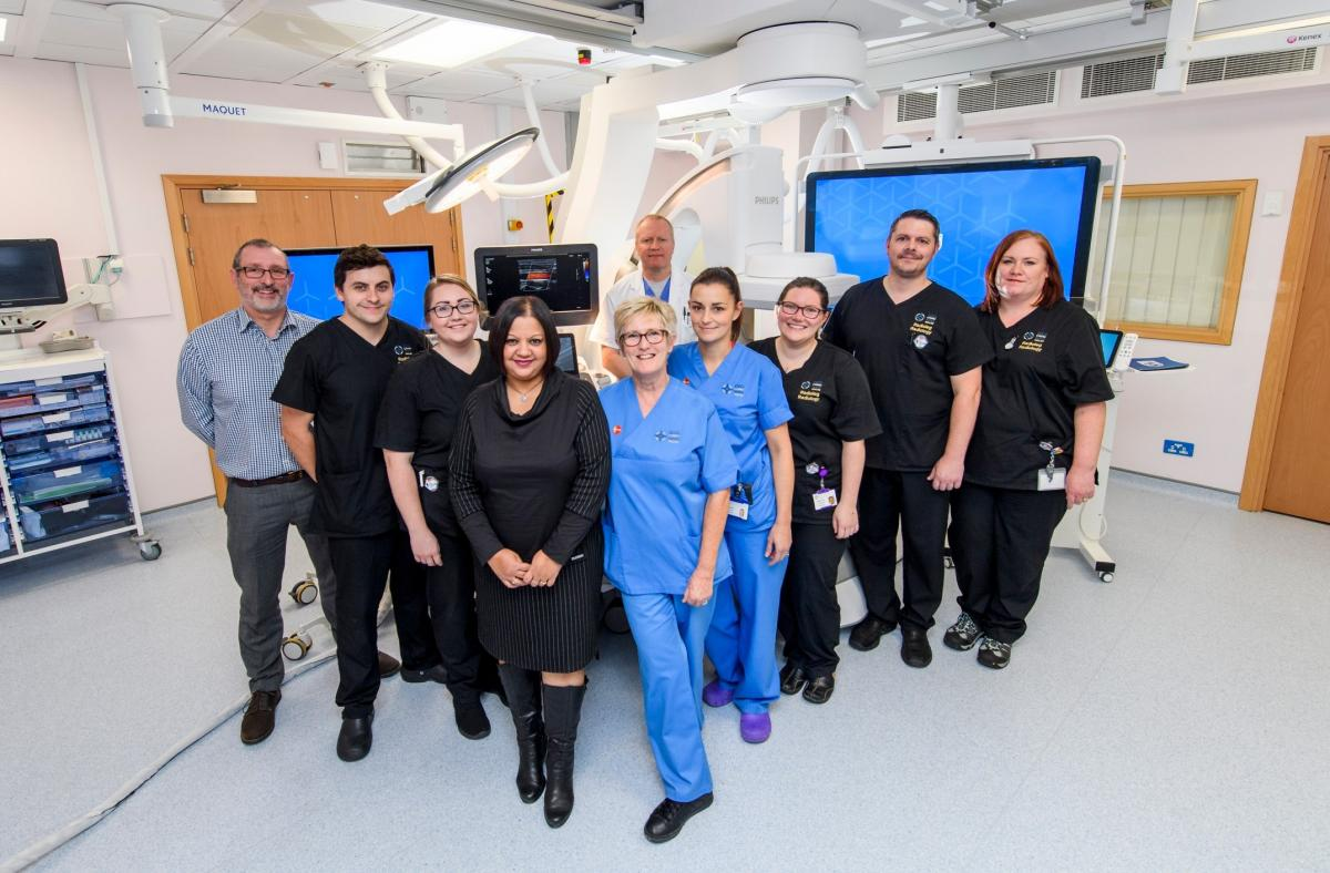 New interventional radiology suites at hospitals in