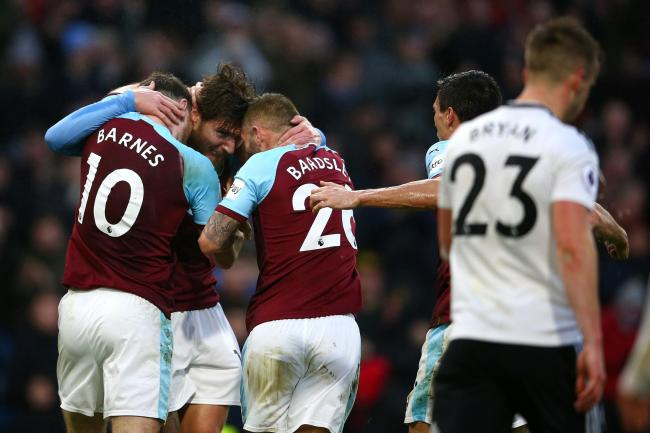 Burnley claimed a vital win