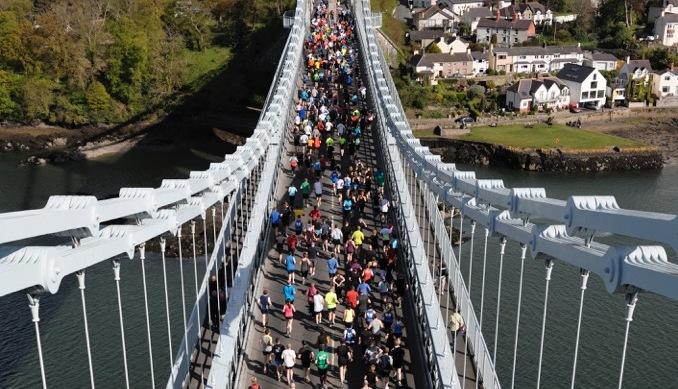 The Jones Crisps Anglesey Half Marathon will return on March 3.