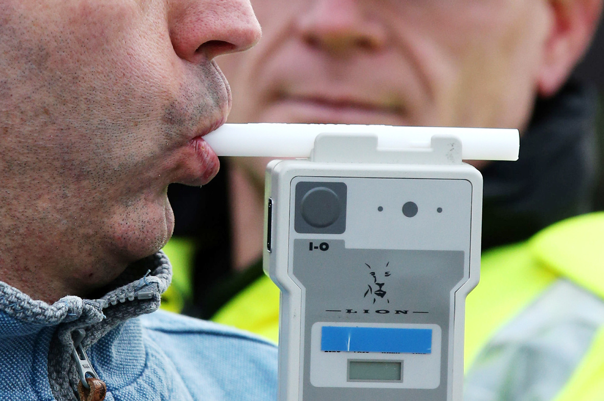 More people were arrested for drug driving than drink driving on the region's roads during the festive period. PICTURE: Andrew Milligan/PA Wire.