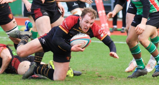 Efan Jones in action for RGC last season (Photo by Tony Bale)
