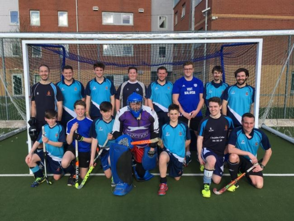 Bangor Hockey Club produced a spirited display against the league leaders