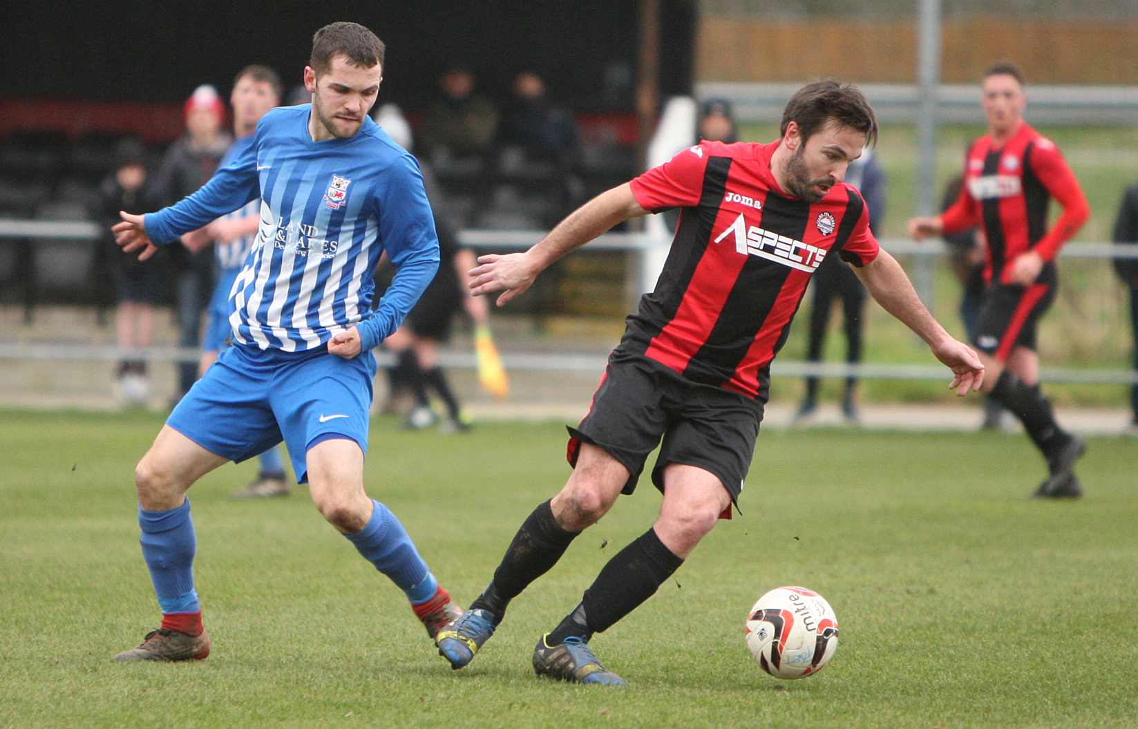 Porthmadog secured a narrow home win over Conwy Borough (Photo by Richard Birch)