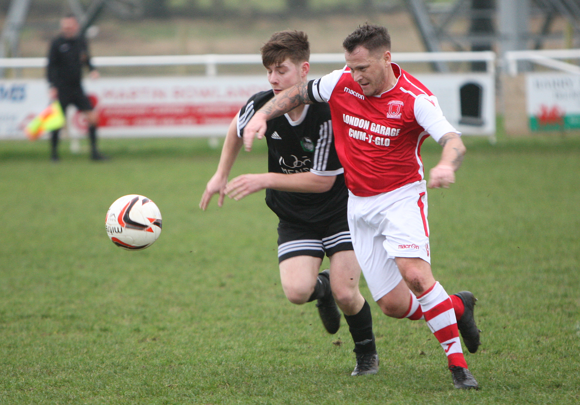 Llandudno Albion were beaten at Llangefni Town (Photo by Richard Birch)