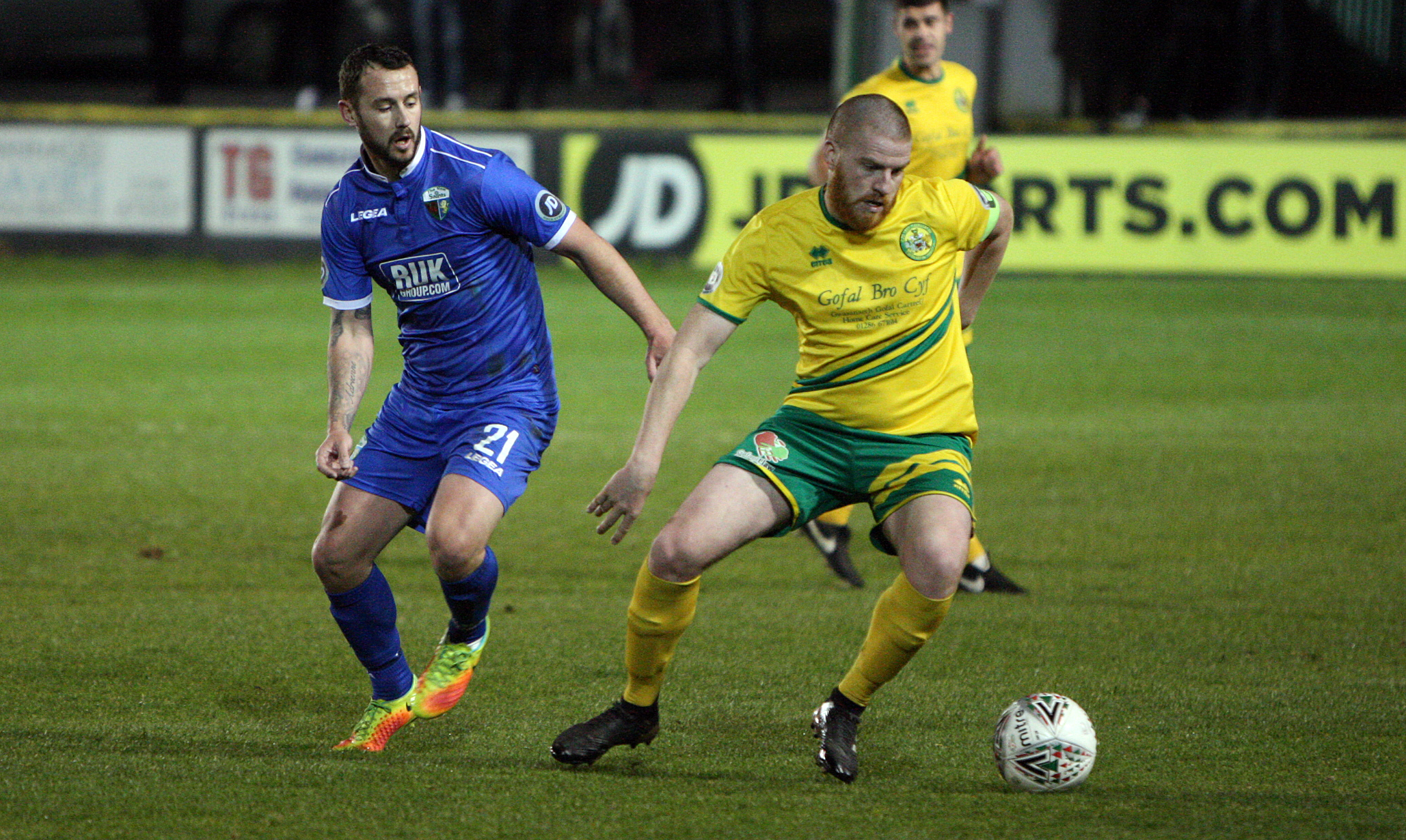 Caernarfon Town's recent form should not mask their overall achievements this term (Photo by Richard Birch)