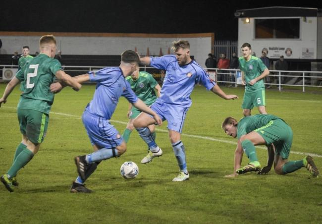 Cory Williams netted for Conwy Borough
