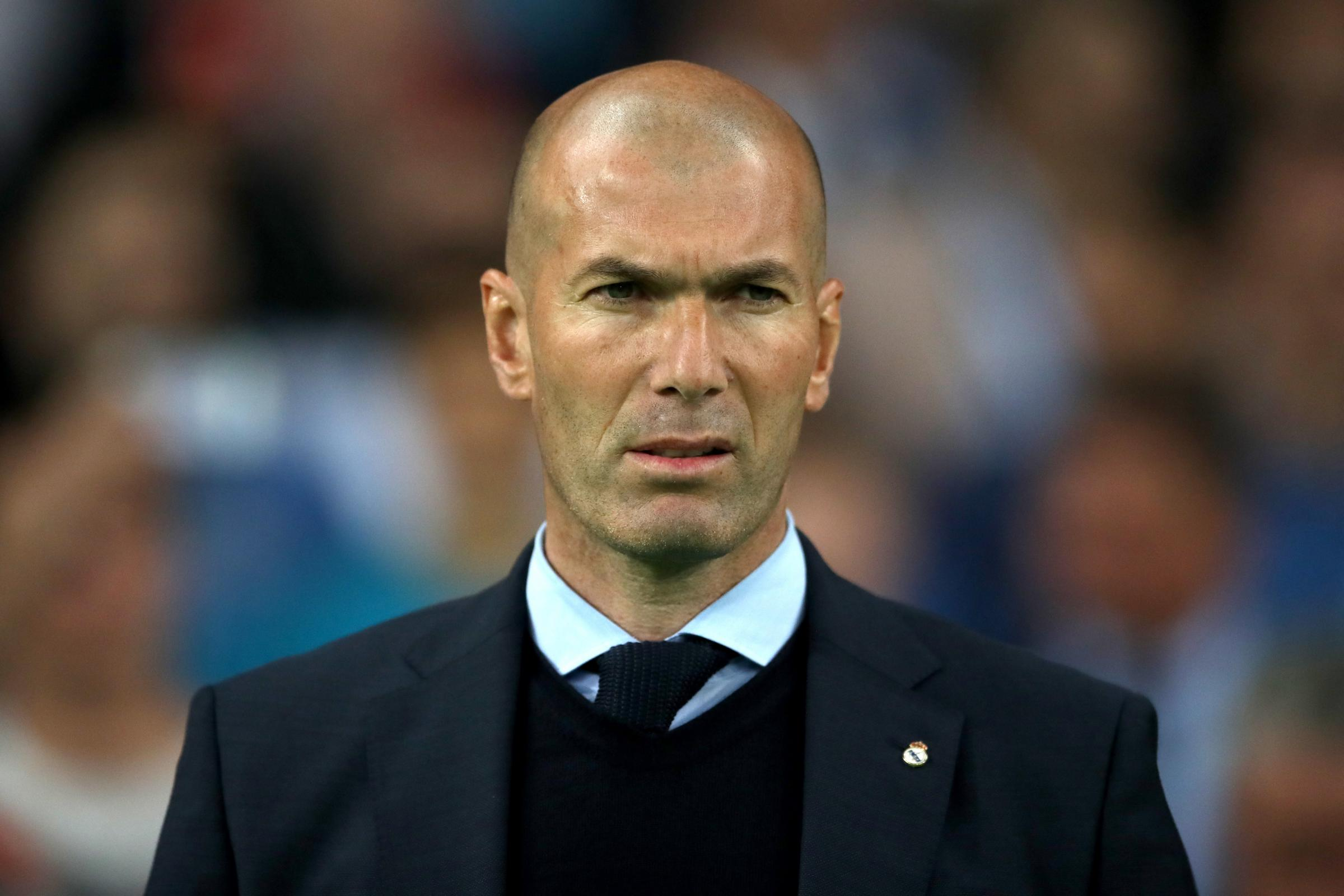 Zinedine Zidane File Photo