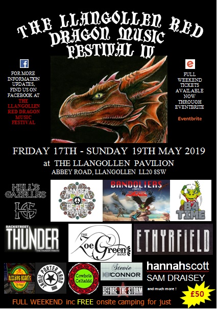 The Llangollen Red Dragon Music Festival