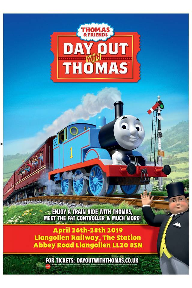 Thomas the Tank Engine is coming to Llangollen