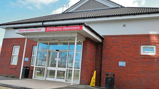 Healthcare Inspectorate Wales demanded action over people being left on trolleys at Wrexham Maelor Hospital's emergency department