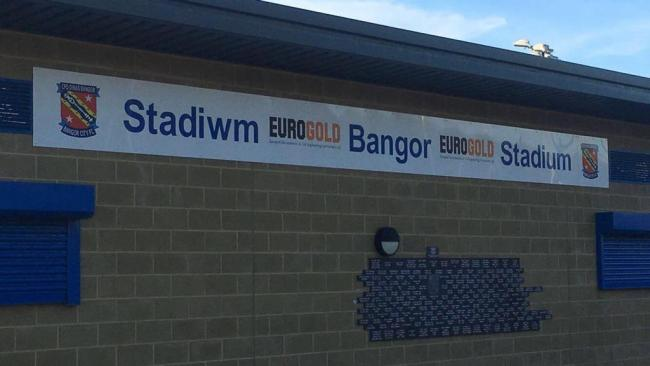 Bangor City's EuroGold Stadium is set for a major refurbishment