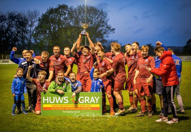 Holyhead Hotspur Reserves won the Megan Cup on Friday night. PICTURE: Eye in the Sky Cinematography.