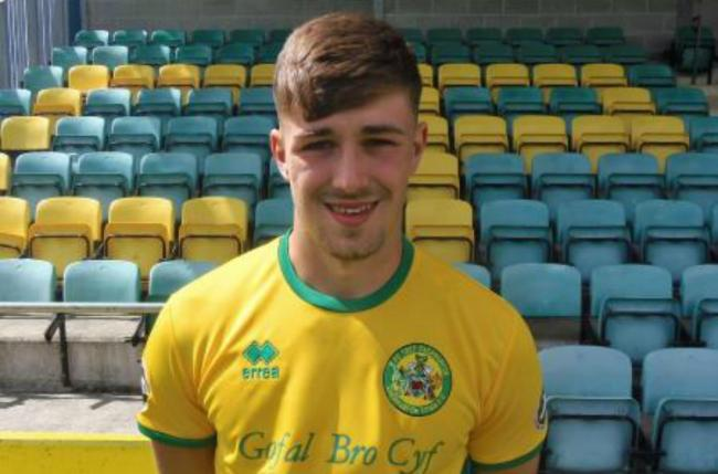Ryan Williams has had another tremendous season for Caernarfon Town (Photo by Paul Evans)
