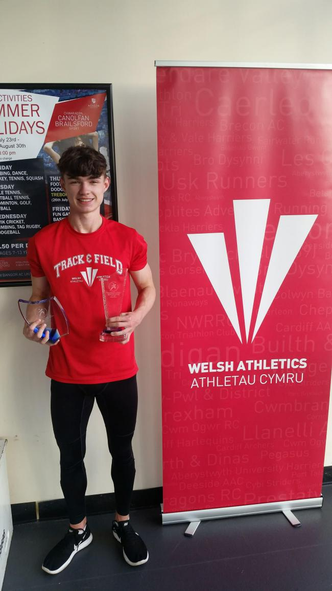 Zack Price will go in search of medal glory for Ynys Mon