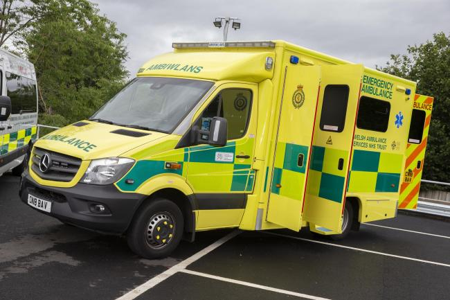One of the 111 new vehicles which will replace some of the existing Welsh Ambulance Service fleetHUW JOHN, Cardiff  Picture: Huw John, Cardiff