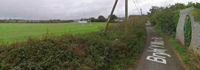 Anglesey Council\'s planning committee approved the application submitted by Holyhead Rugby Club for their ground at Ffordd Bryn Y Môr, Valley. Screengrab from Google Streetview.