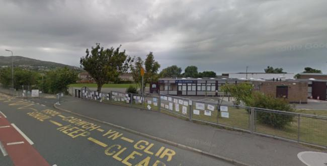 The development is just a stone's throw away from Ysgol Llaingoch. PICTURE: Google Streetview.