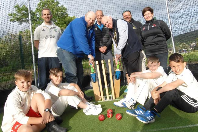 Dolgellau Cricket Club are ready to open their new outdoor training facility