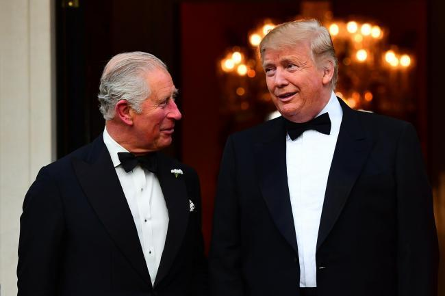 Donald Trump hilariously referred to Prince Charles as the 'Prince of Whales'